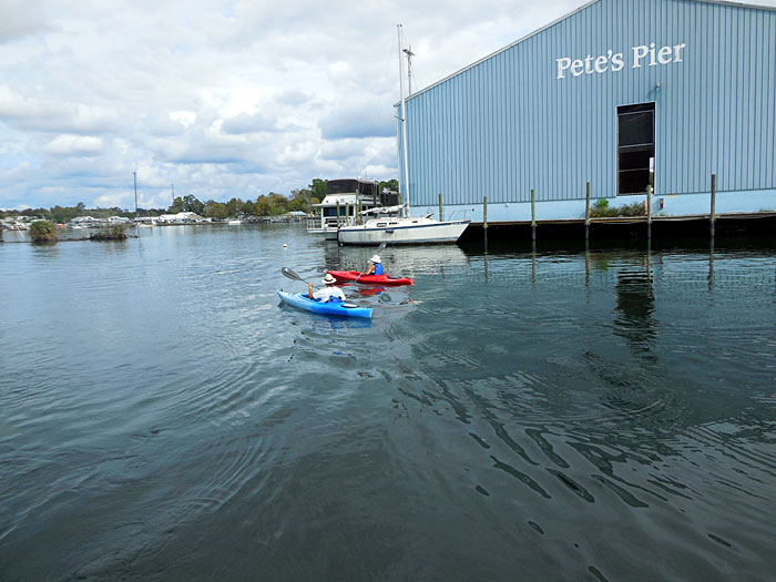 Family Adventure Charters is Close to All the Best Kayaking Areas