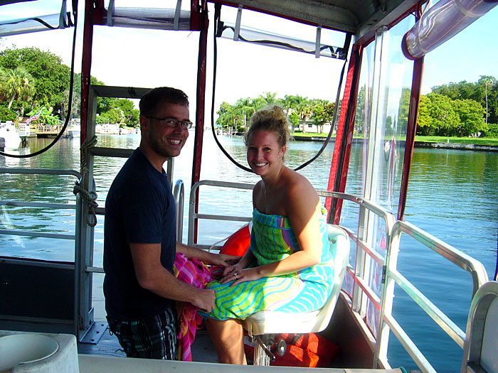 Enjoy a Romantic Sunset Cruise on the Crystal River