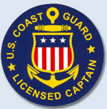 US Coast Guard Certified Captains